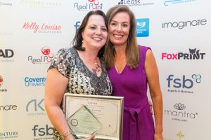 Woman who achieves award winner